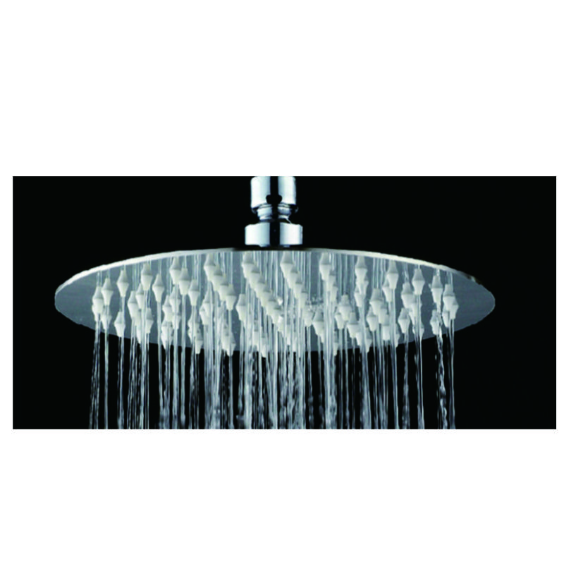 Shower Rose Round Stainless Steel